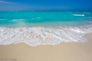 Banking and investment advice - calm as the sea on the beach